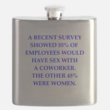 men are pigs Flask
