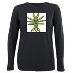 Bug-039-[Converted].png Plus Size Long Sleeve Tee