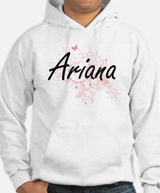 Ariana Artistic Name Design with Jumper Hoody