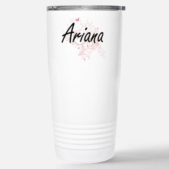 Ariana Artistic Name De Stainless Steel Travel Mug