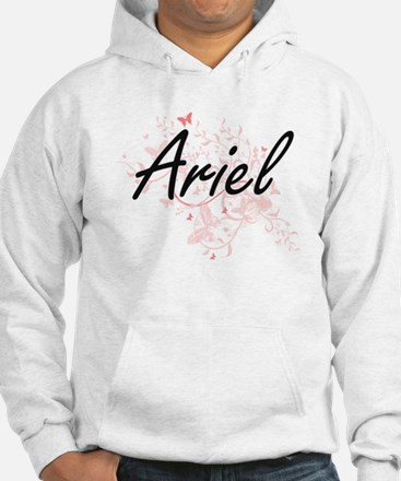 Ariel Artistic Name Design with Hoodie