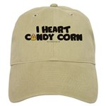 I Heart Candy Corn Halloween Cap
