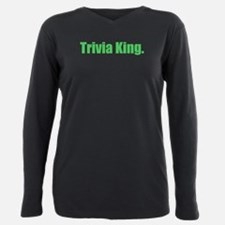 trivia king Plus Size Long Sleeve Tee