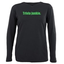 trivia junkie Plus Size Long Sleeve Tee