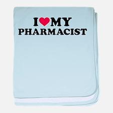 I love my Pharmacist baby blanket