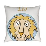 Leo-01.png Everyday Pillow