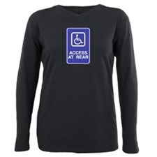 Access-at-Rear.png Plus Size Long Sleeve Tee