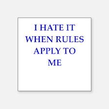 rules Sticker