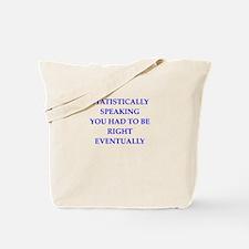statistically Tote Bag