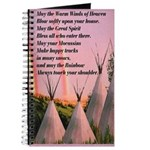 Cherokee Blessing Prayer Journal