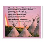 Cherokee Blessing Prayer Small Poster
