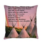 Cherokee Blessing Prayer Everyday Pillow