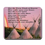Cherokee Blessing Prayer Mousepad