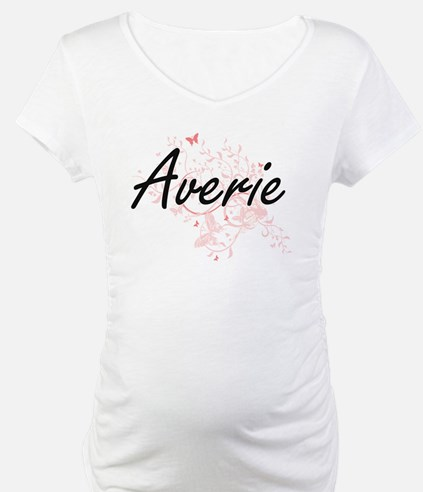 Averie Artistic Name Design with Shirt