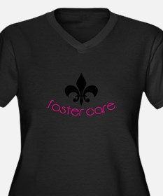 Foster Care Plus Size T-Shirt