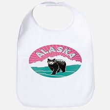Travel Alaska Retro Bib
