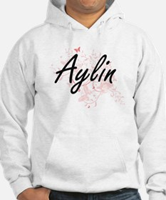 Aylin Artistic Name Design with Hoodie Sweatshirt