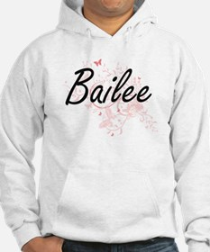 Bailee Artistic Name Design with Hoodie Sweatshirt