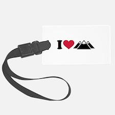 I love mountains Luggage Tag