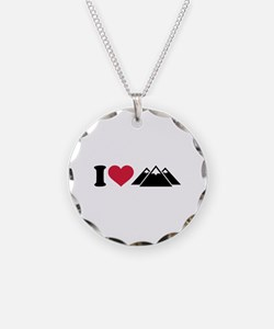 I love mountains Necklace