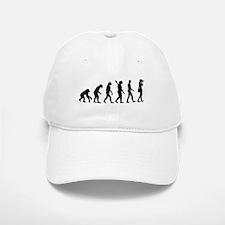 Evolution Photographer Baseball Baseball Cap
