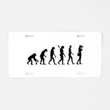 Evolution Photographer Aluminum License Plate
