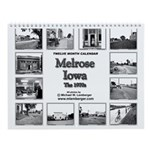 Melrose, Iowa Wall Calendar