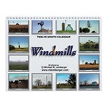 Windmill Wall Calendar