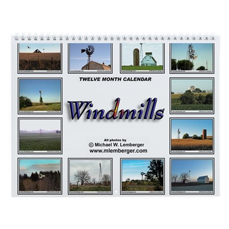 Windmill Wall Calendar