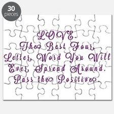 LOVE Pass the Positive Puzzle