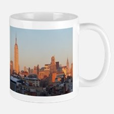 Empire State Sunset (wide view) Mugs