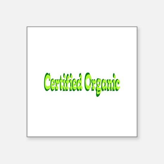 Certified Organic Sticker