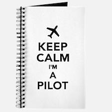 Keep calm I'm a Pilot Journal