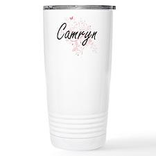 Camryn Artistic Name De Travel Mug