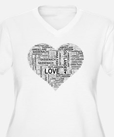 Heart Outlander Plus Size T-Shirt
