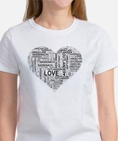 Heart Outlander T-Shirt