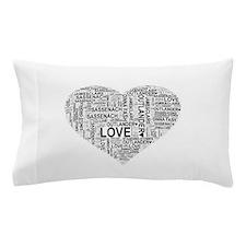 Heart Outlander Pillow Case