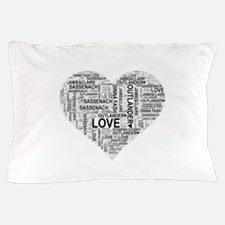 Heart Outlander Pillow Case