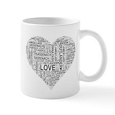 Heart Outlander Mugs