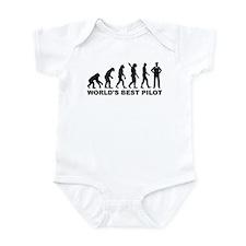 Evolution world's best Pilot Infant Bodysuit