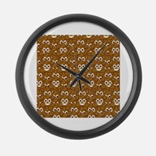 Funny Chat Large Wall Clock