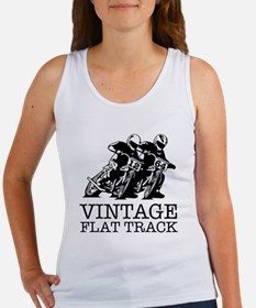 Flat Track One Bike Logo Tank Top