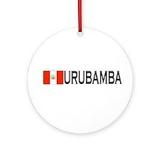 Urubamba, Peru Ornament (Round)