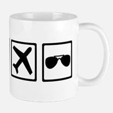 Pilot equipment Mug