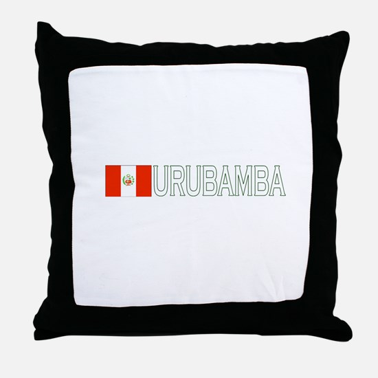 Urubamba, Peru Throw Pillow