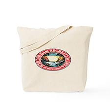 Vintage Boulder Dam Tote Bag