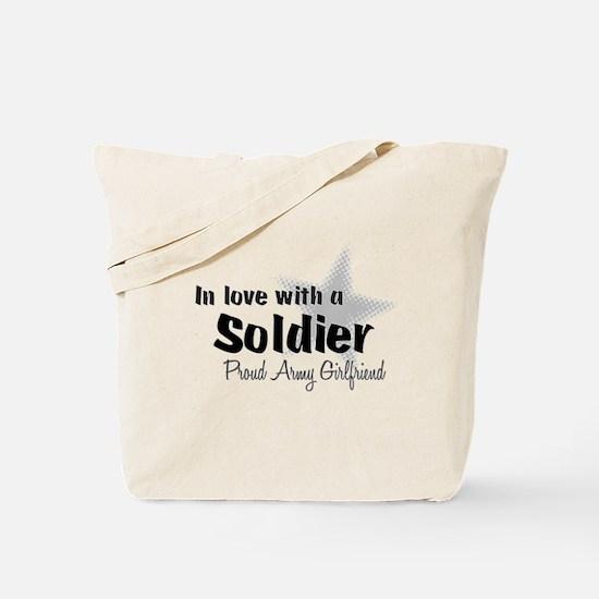 Proud Army Girlfriend Tote Bag