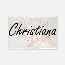 Christiana Artistic Name Design with Butte Magnets