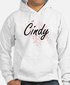 Cindy Artistic Name Design with Hoodie