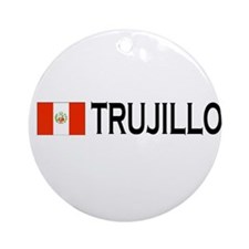 Trujillo, Peru Ornament (Round)